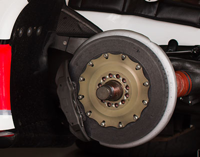 service of vehicle brakes