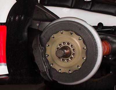 service of vehicle brakes