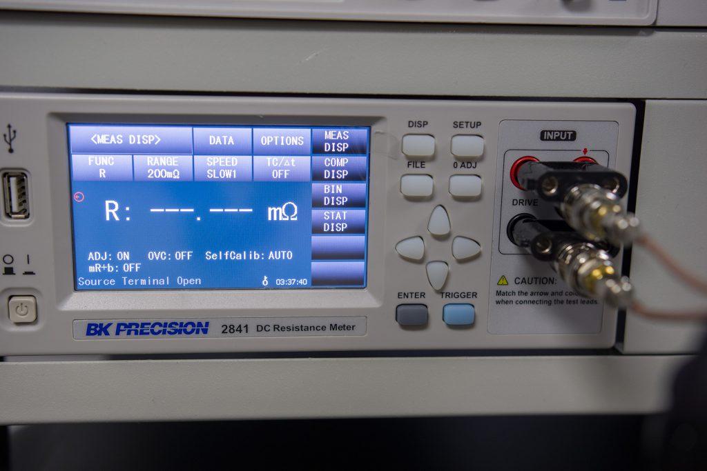 B+K Precision milliohmmeter