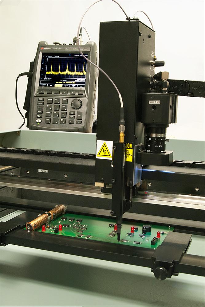 Automate RF Spectrum Analyzer test measurements - Huntron